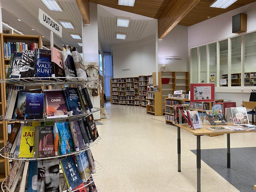 Kuva: Kirjasto uutuudet.