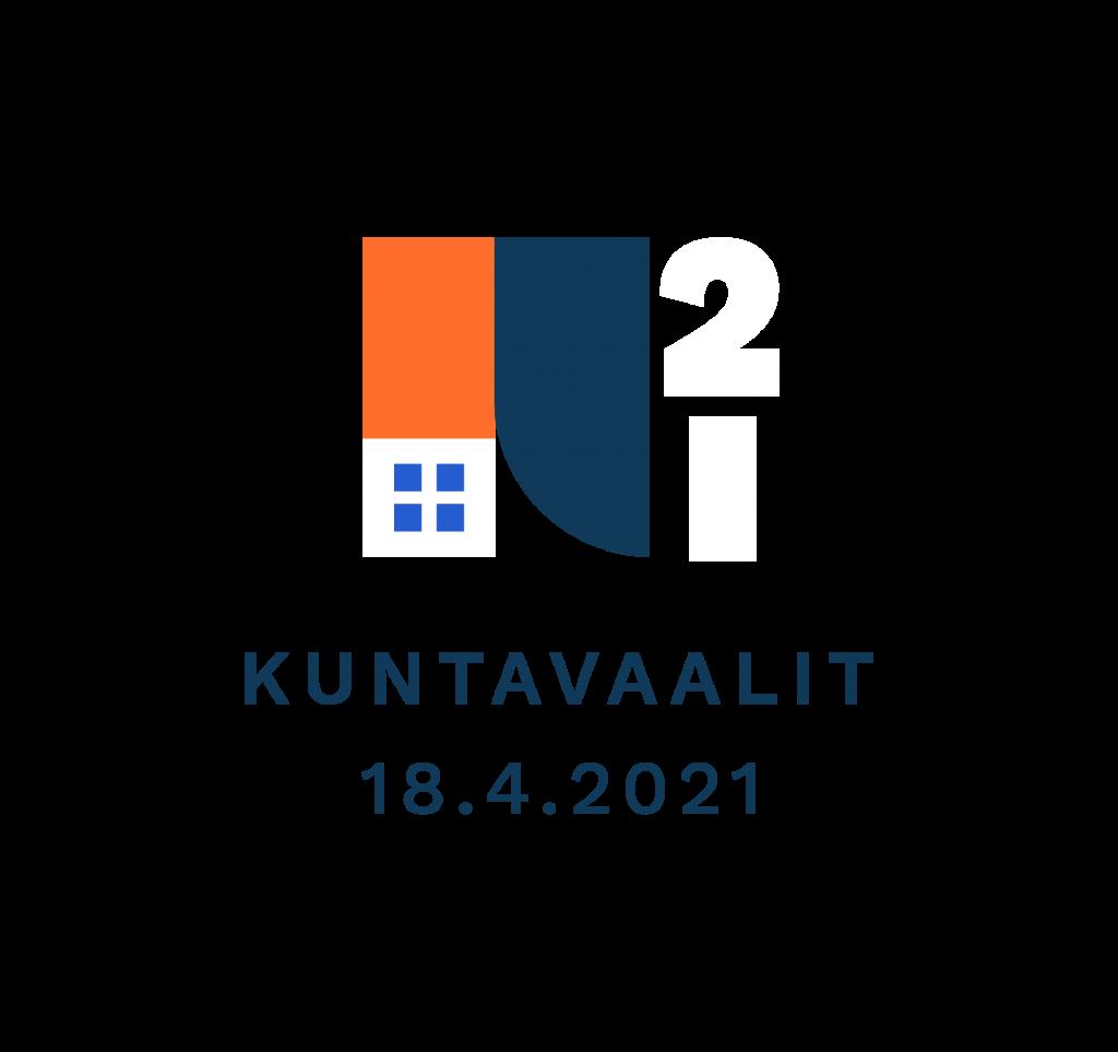 Kuntavaalit 2021 logo