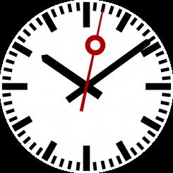 Kuvassa kello.