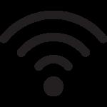 Langaton verkkoyhteys symboli..